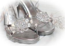 bridal ботинок детали Стоковое Изображение