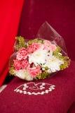 Bridal букет и ювелирные изделия Стоковая Фотография