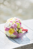 Bridal букет различных цветков Стоковое Изображение RF