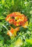 Bridal букет различных цветков Стоковые Изображения
