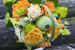 Bridal букет стоковое фото