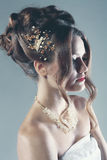 Bridal женщина моды Стоковые Изображения RF