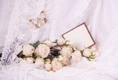 bridal кольца цветков wedding Стоковое Фото