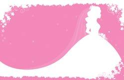 bridal ливень приглашения Стоковые Фото