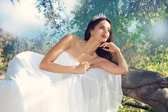Bridal моделирование стоковая фотография