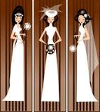 bridal модели платьев иллюстрация штока