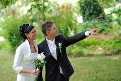 Bridal пары Стоковая Фотография RF