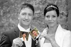 Bridal пары Стоковое Изображение
