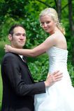 Bridal пары Стоковые Изображения