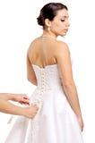 Bridal платье Стоковые Изображения RF