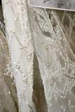 Bridal платья увиденное кулуарное перед модным парадом 2019 весны Berta Bridal Стоковое Изображение