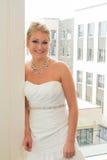 Bridal портрет внутри помещения Стоковая Фотография RF