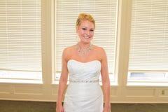 Bridal портрет внутри помещения Стоковые Фотографии RF