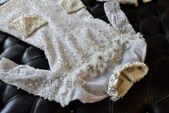 Bridal платье во время Виктора и Rolf Mariage представление собрания скачут/лета 2018 Стоковое Фото