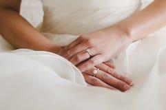 Bridal руки Стоковое Изображение