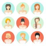 Bridal стиль причёсок Стоковое Изображение
