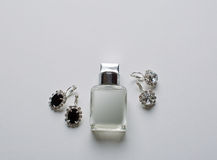 Bridal украшения и парфюмерия Стоковое фото RF