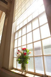 Bridal цветки в церков Стоковые Фото