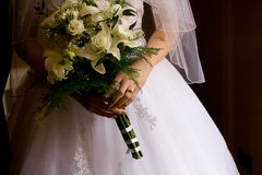 bridal цветок стоковые фото