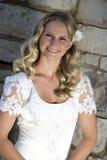 Bridal. Portrait of young blonde bride stock photos