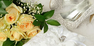 Bridal accessories Stock Image
