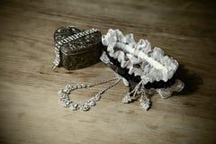 Bridal akcesoria Zdjęcia Royalty Free