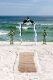 Bridal Arch With Carpet Stock Photography