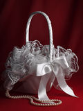 Bridal basket Royalty Free Stock Image