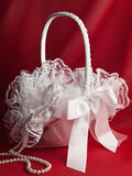 Bridal basket Stock Image