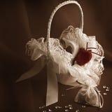 Bridal Basket Royalty Free Stock Photo