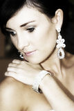 Bridal Beauty Stock Image