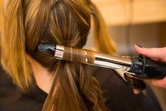 Bridal Beauty Hair Royalty Free Stock Photography