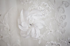 Bridal bodice detail Royalty Free Stock Photo