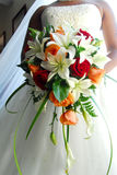 Bridal bouquet. The brides bouquet Stock Image