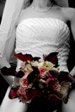 Bridal bouquet. The brides bouquet Stock Photo