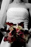 Bridal bouquet. The brides bouquet stock photo