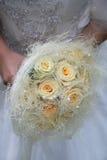 Bridal bouquet. Bride holding a wedding bouquet Stock Photos