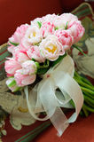 Bridal Bouquet. A bridal bouquet with pink and white flowers ready for the ceremony Royalty Free Stock Photos
