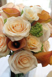 Bridal Bouquet. A bride bouquet with pink roses Stock Image