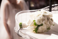 Bridal bouquet close up Royalty Free Stock Photo