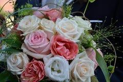 Bridal bouquet - closeup. Bride and groom bridal bouquet - close-up Stock Photos