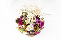 Bridal Bouquet. With different flowers Royalty Free Stock Images