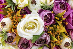 Bridal Bouquet. With different flowers Royalty Free Stock Photo