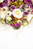 Bridal Bouquet. With different flowers Royalty Free Stock Photography