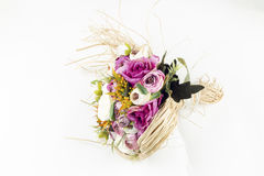 Bridal Bouquet. With different flowers Stock Photography