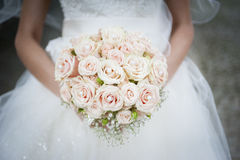 Bridal bouquet of flowers. Beautiful bridal bouquet of flowers Royalty Free Stock Photos