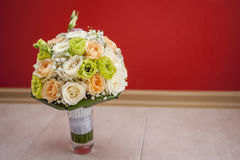 Bridal bouquet of flowers. Beautiful bridal bouquet of flowers Royalty Free Stock Photography