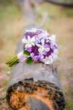 Bridal bouquet in a grass Royalty Free Stock Photos