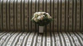 Bridal bouquet indoors stock video
