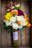Bridal Bouquet Mixed Flowers Royalty Free Stock Photos